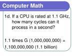 computer math5