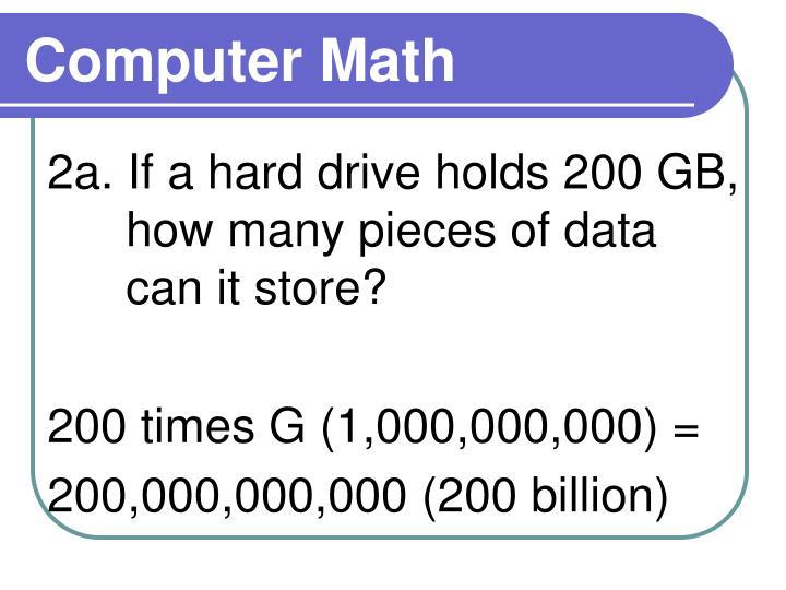 Computer Math