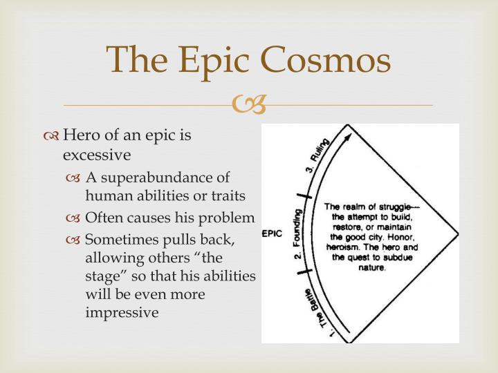 The Epic Cosmos