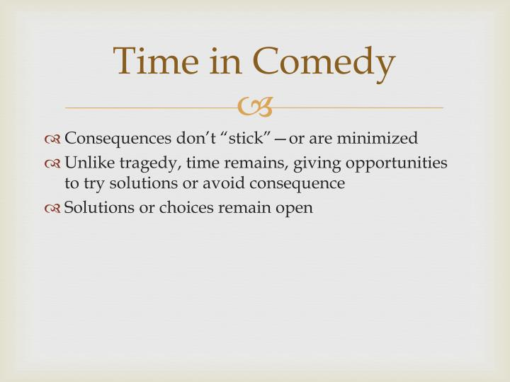 Time in Comedy