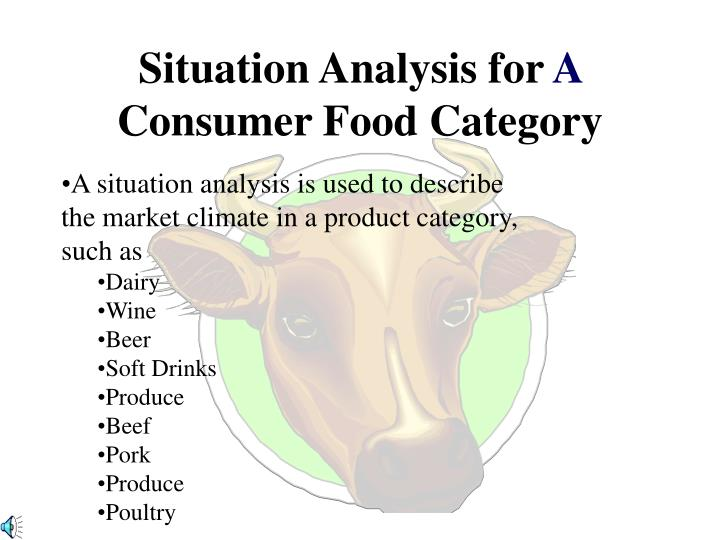 Situation Analysis for