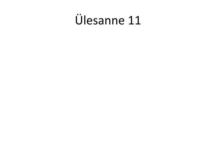 Ülesanne 11