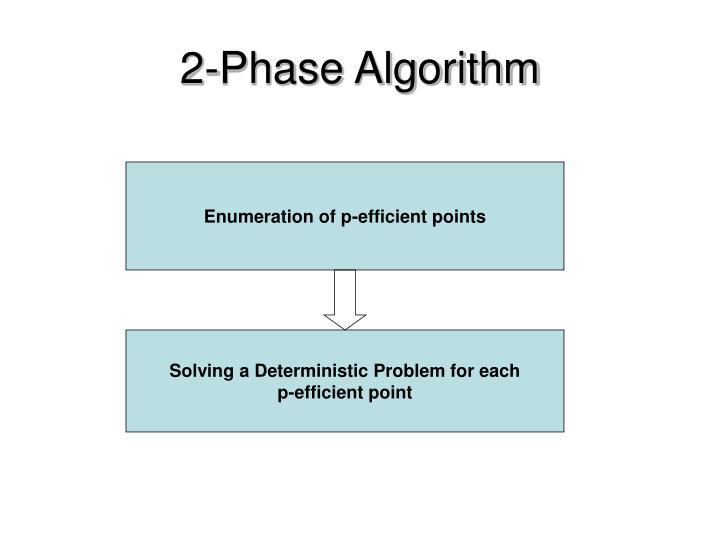 2-Phase Algorithm
