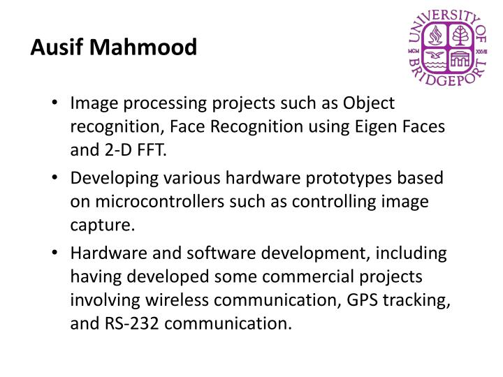 Ausif Mahmood