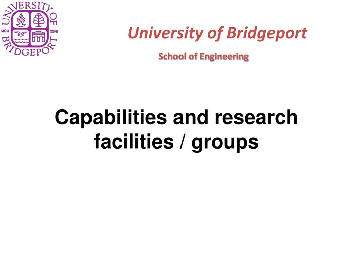 University of bridgeport1