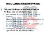 wmc current research projects