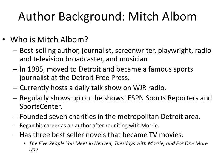 Author Background: Mitch