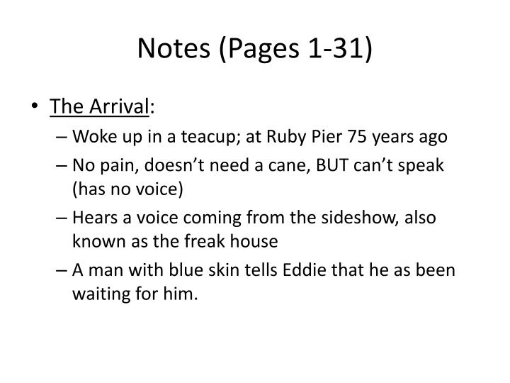 Notes (Pages 1-31)