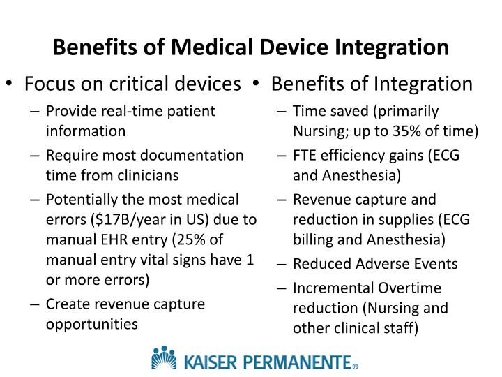 Benefits of Medical Device Integration