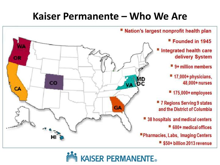 Kaiser Permanente – Who We Are