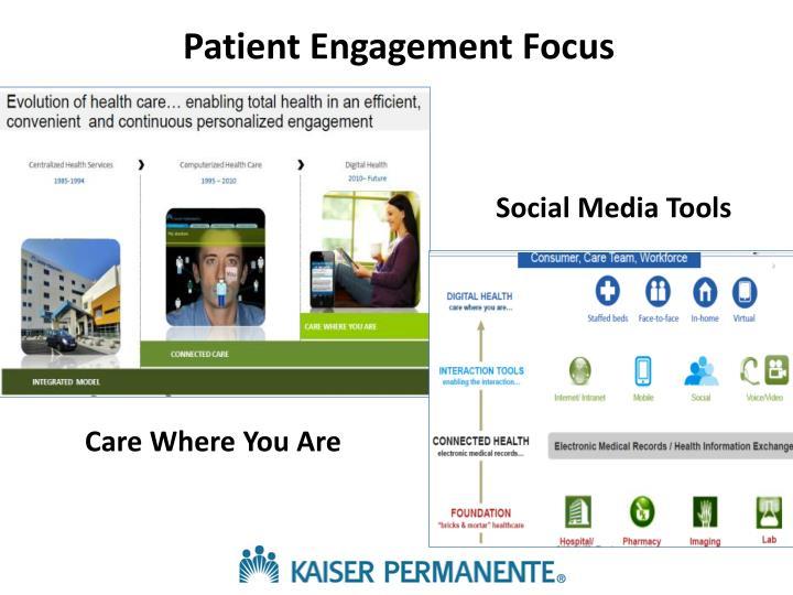 Patient Engagement Focus