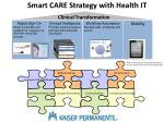 smart care strategy with health it