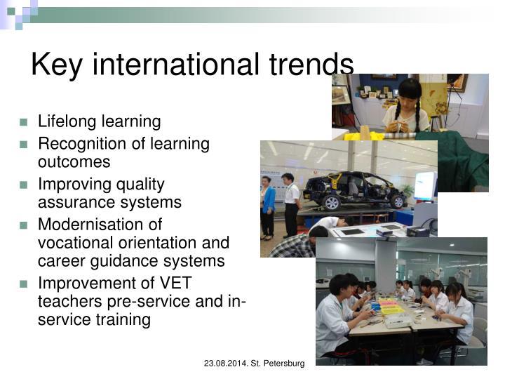 Key international trends