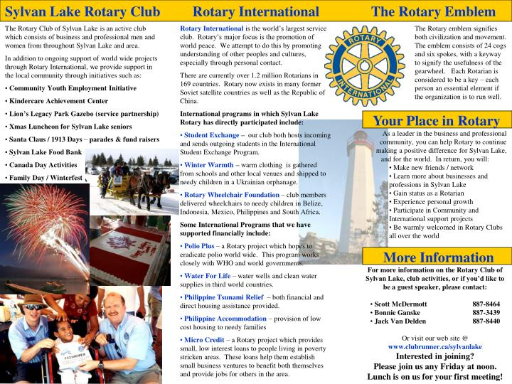 Sylvan Lake Rotary Club