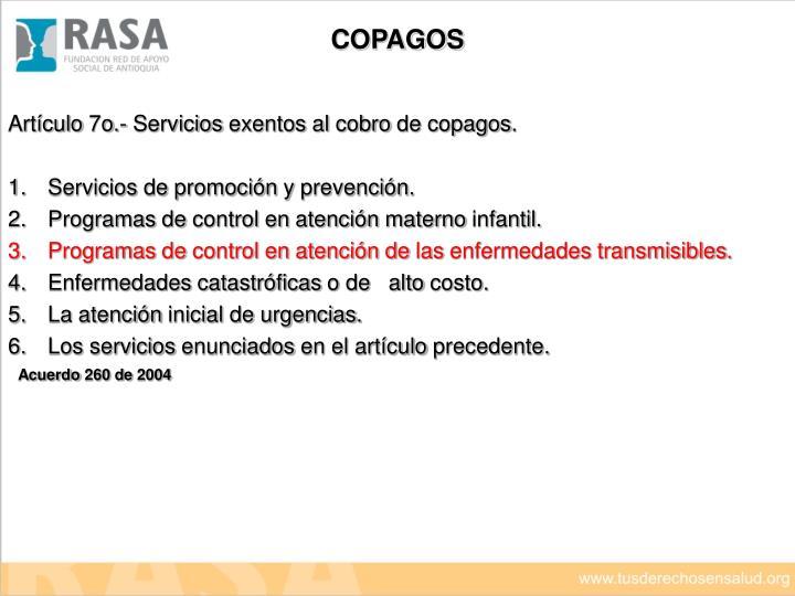 COPAGOS