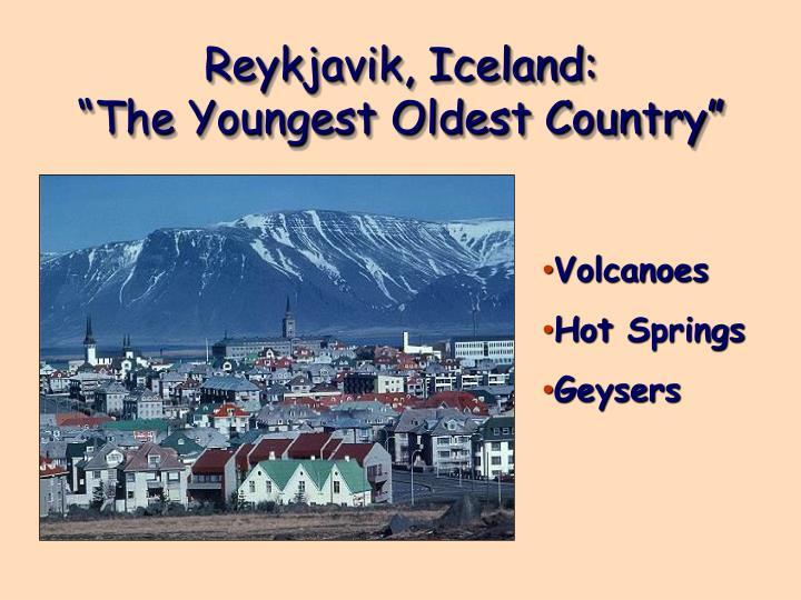 Reykjavik, Iceland: