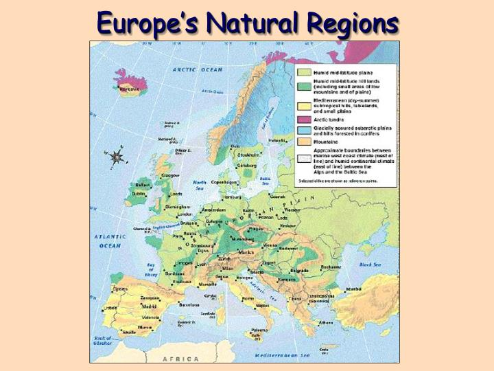 Europe's Natural Regions
