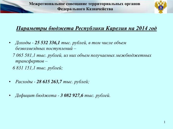 Межрегиональное совещание территориальных органов