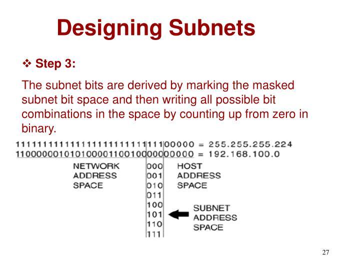 Designing Subnets