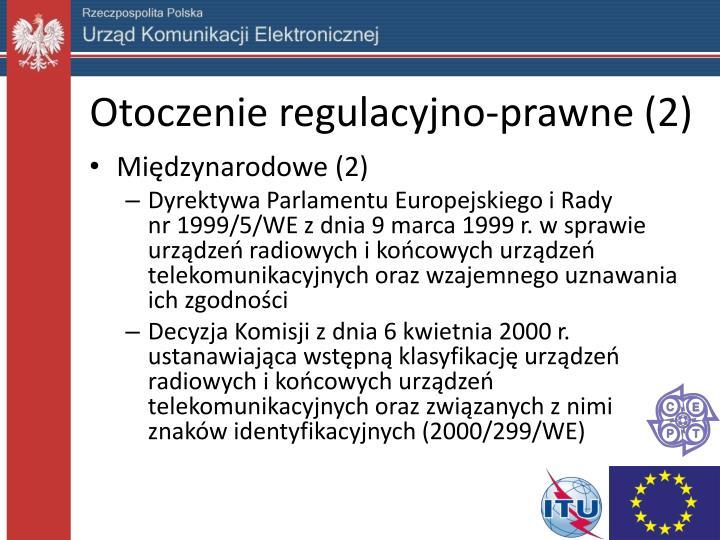 Otoczenie regulacyjno-prawne (2)