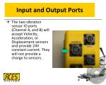 input and output ports1