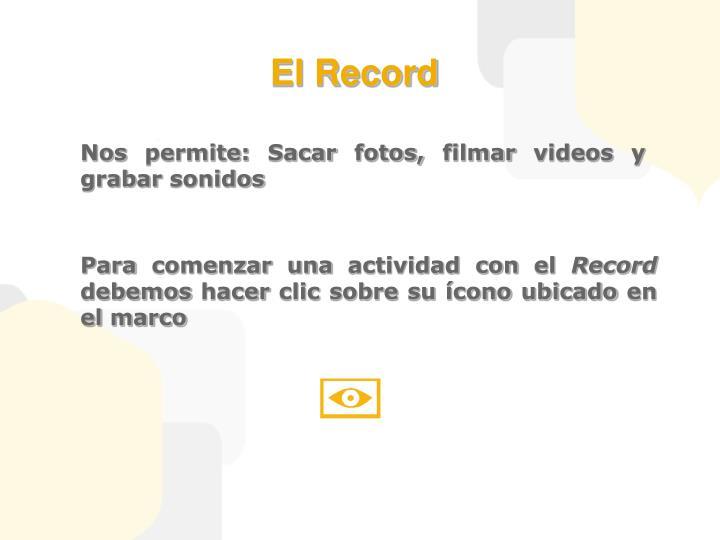 El Record