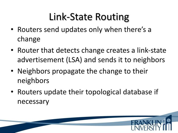 Link-State Routing