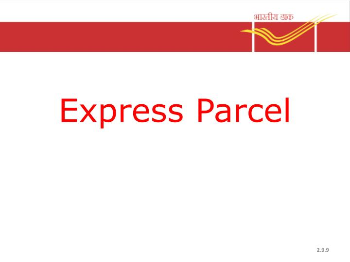 Express Parcel