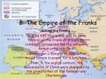 b the empire of the franks1