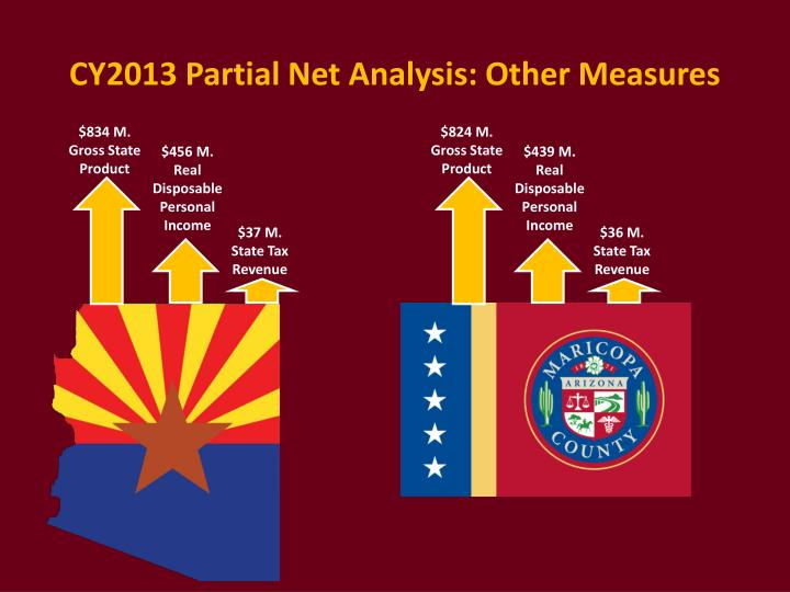 CY2013 Partial Net Analysis: Other Measures