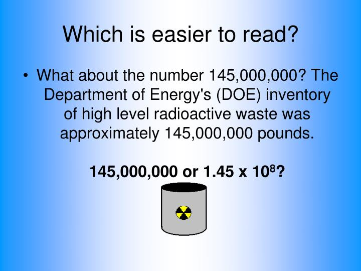 Which is easier to read?