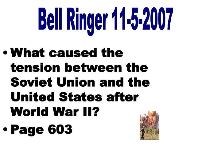 Bell Ringer 11-5-2007