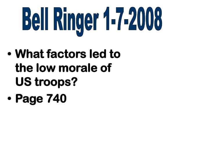 Bell Ringer 1-7-2008