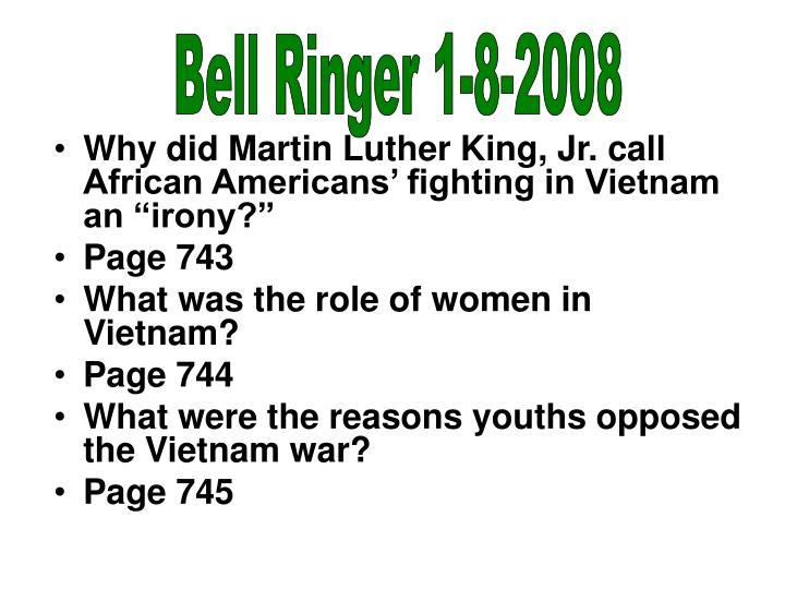 Bell Ringer 1-8-2008