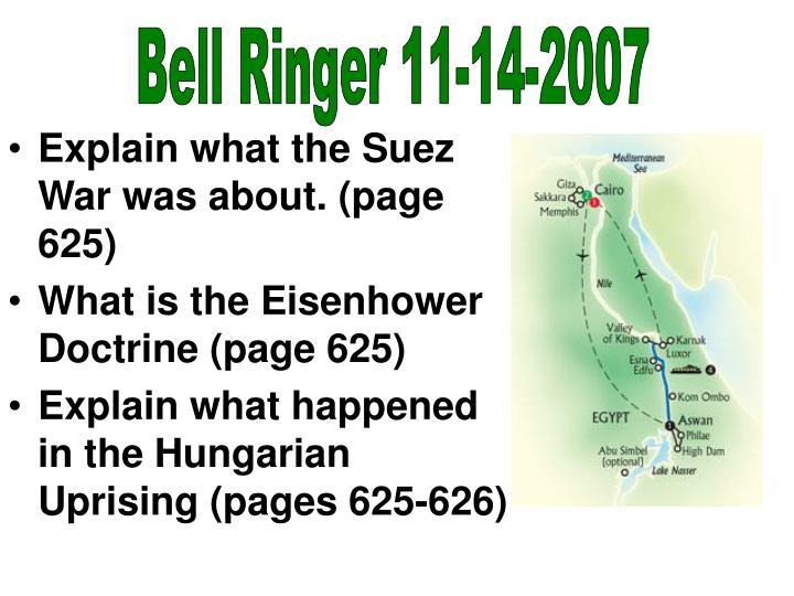 Bell Ringer 11-14-2007