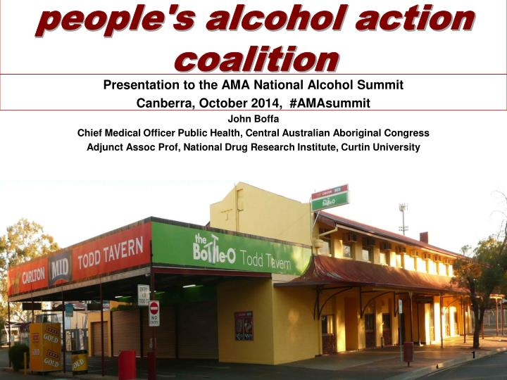 People s alcohol action coalition