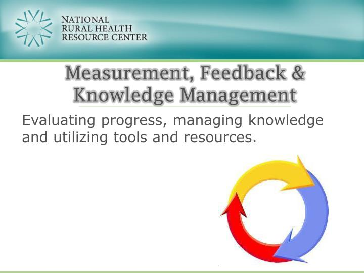 Measurement, Feedback &