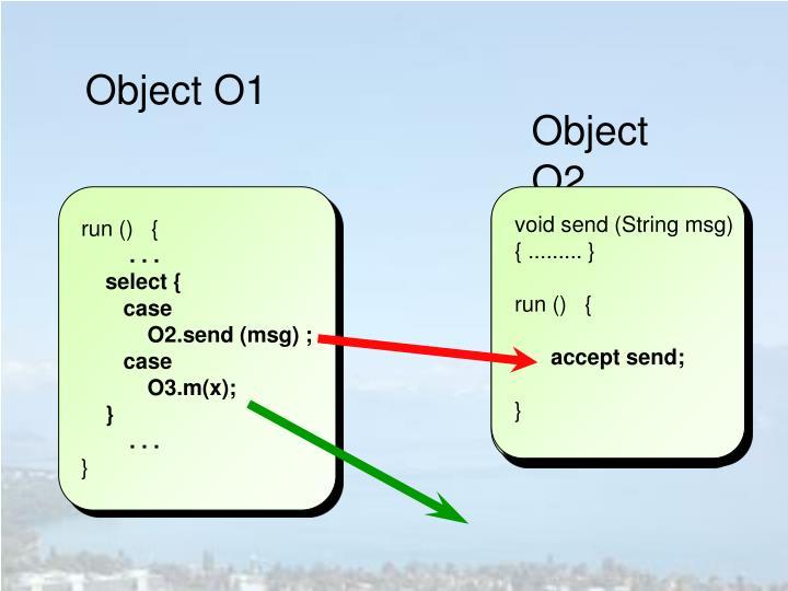 Object O