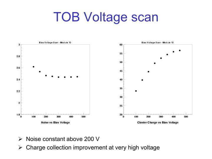 TOB Voltage scan