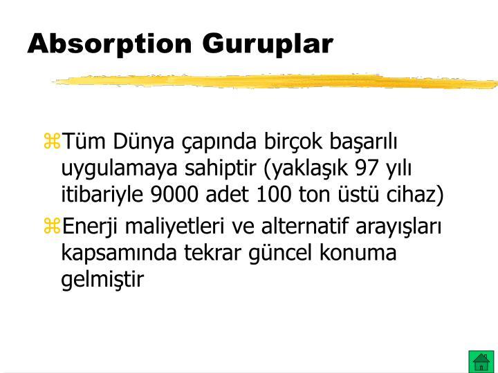 Absorption Guruplar