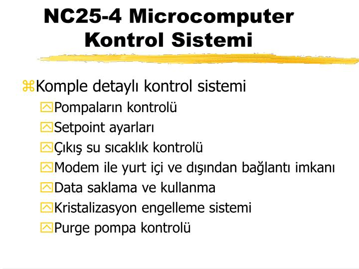 NC25-4 Microcomputer