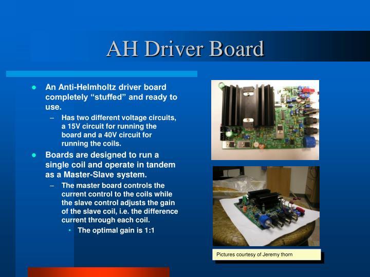 AH Driver Board