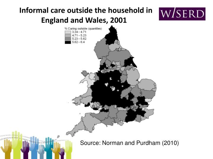 Informal care outside the household in England and Wales, 2001