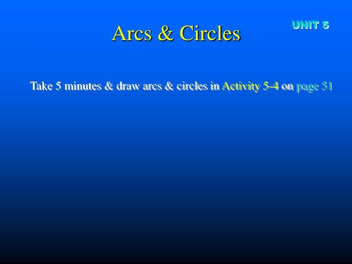 Arcs & Circles