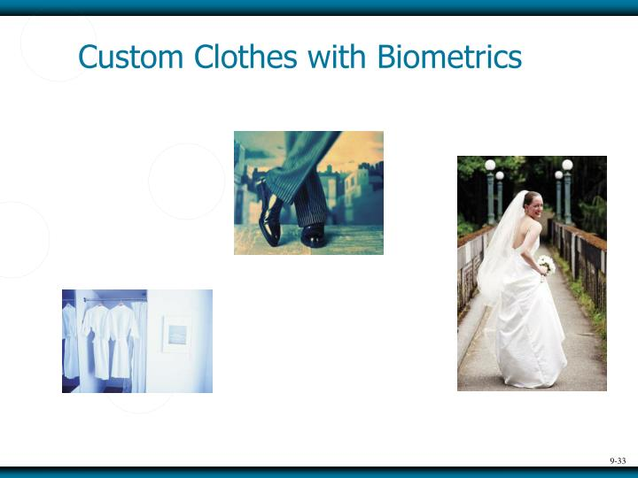 Custom Clothes with Biometrics