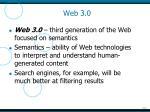 web 3 0