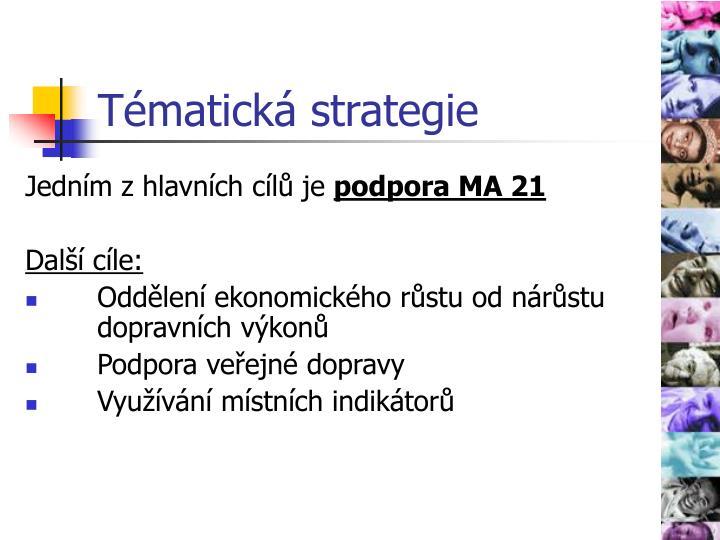 Tématická strategie