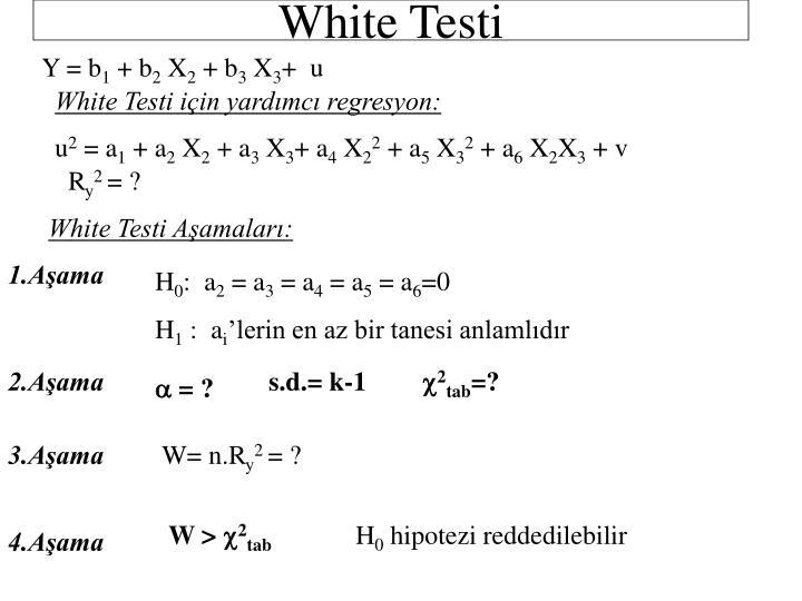 White Testi