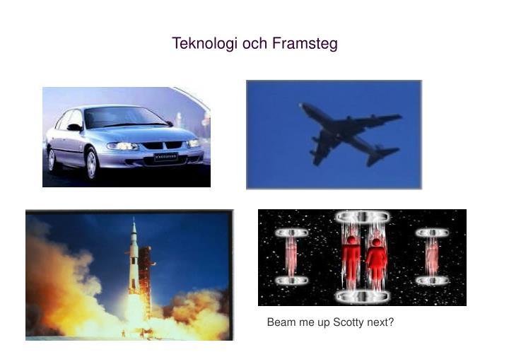 Teknologi och Framsteg
