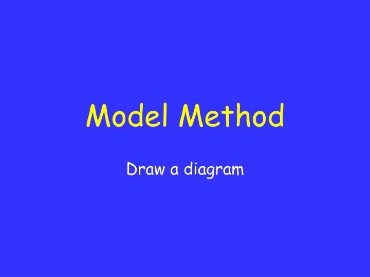 Model Method